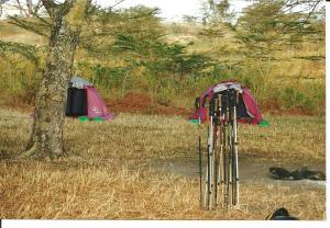 Maasai camp