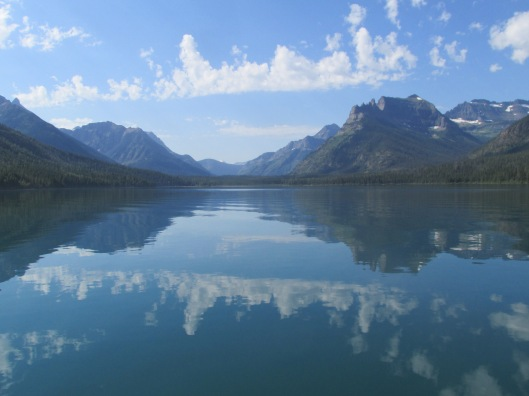 Morning on Waterton Lake, Canada