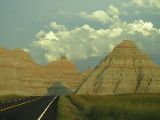 The Badlands just before sunset, South Dakota