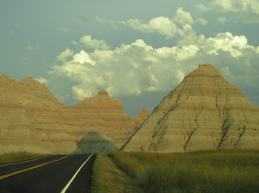 The Badlands just before sunset, South Dakota
