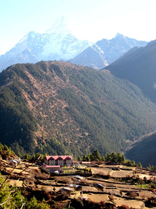 Approaching Tashinga Lodge