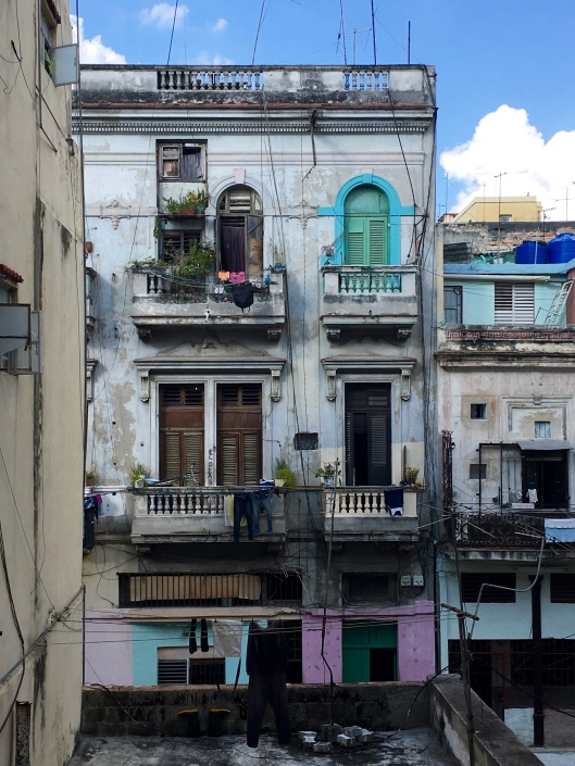 View from our Havana Centro apartment